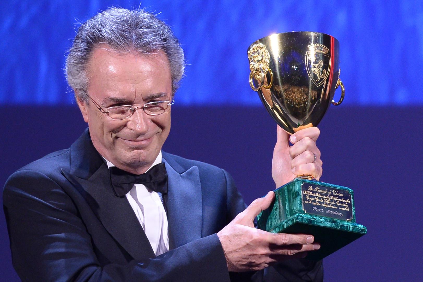 Оскар Мартинес был удостоен кубка Вольпи за лучшую мужскую роль в фильме «Почётный гражданин».