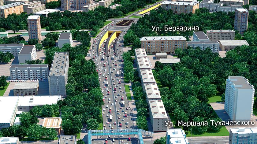 Первый, длинный, двухэтажный: в Москве открыто движение по винчестерному тоннелю