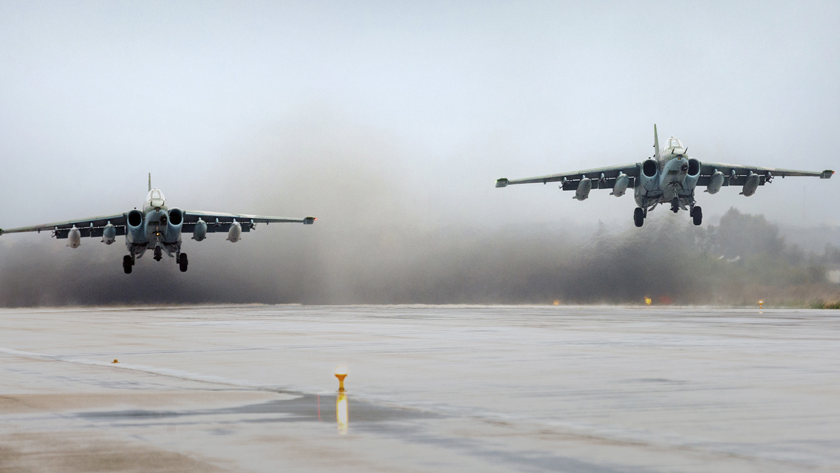 Российские ВКС предотвратили наступление боевиков на Пальмиру