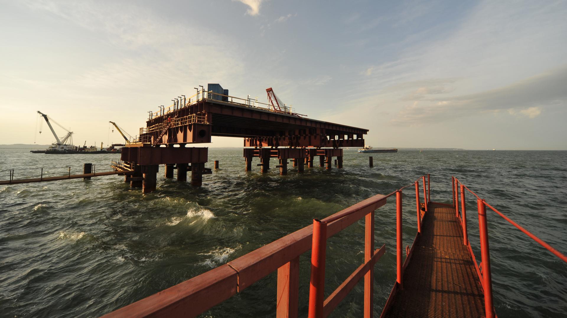 На страже полуострова: для Крымского моста разработана антитеррористическая защита