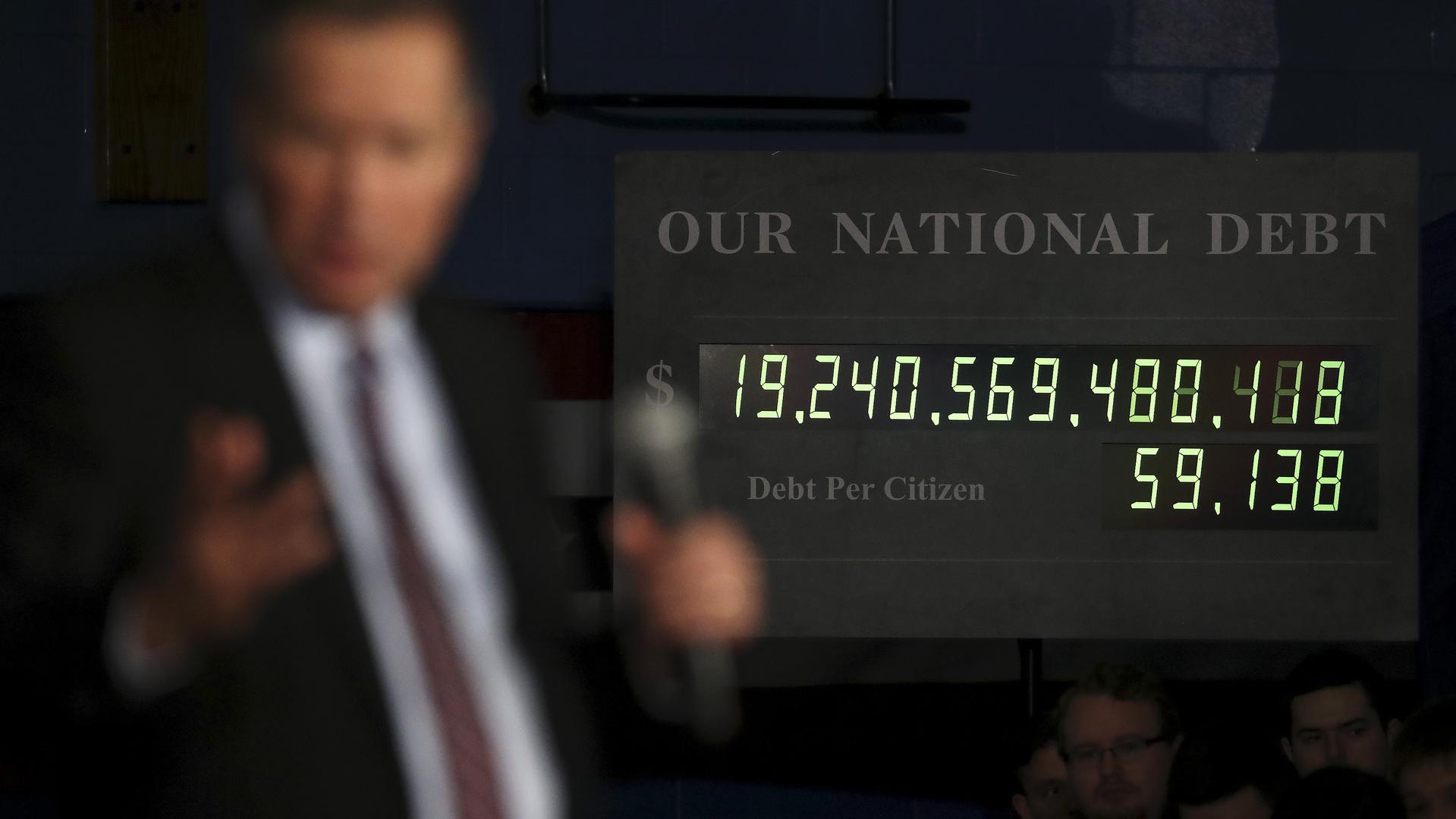 Конгресс США: госдолг Америки угрожает национальной безопасности страны
