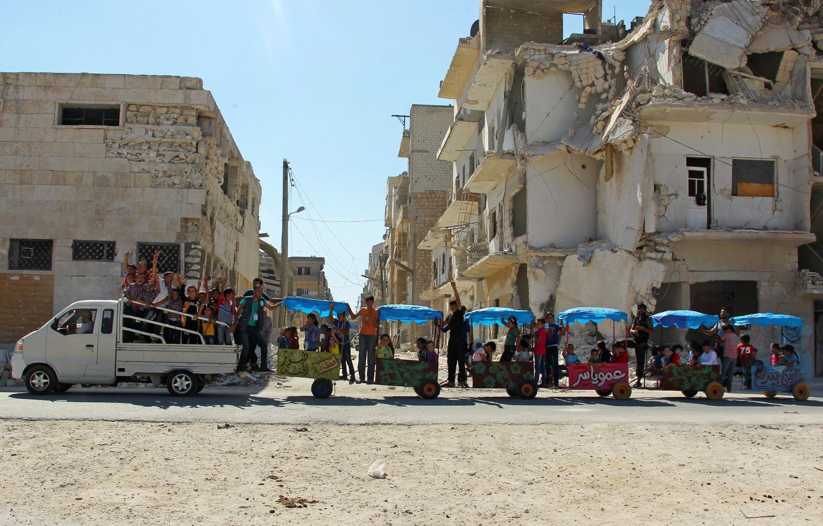 В Сирии вступил в действие режим прекращения огня