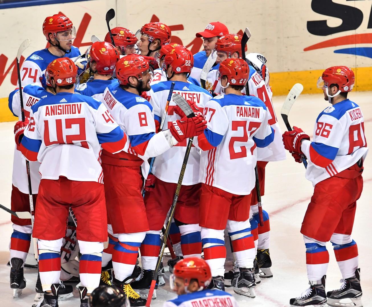 Сборная России одержала волевую победу над молодыми звёздами Северной Америки