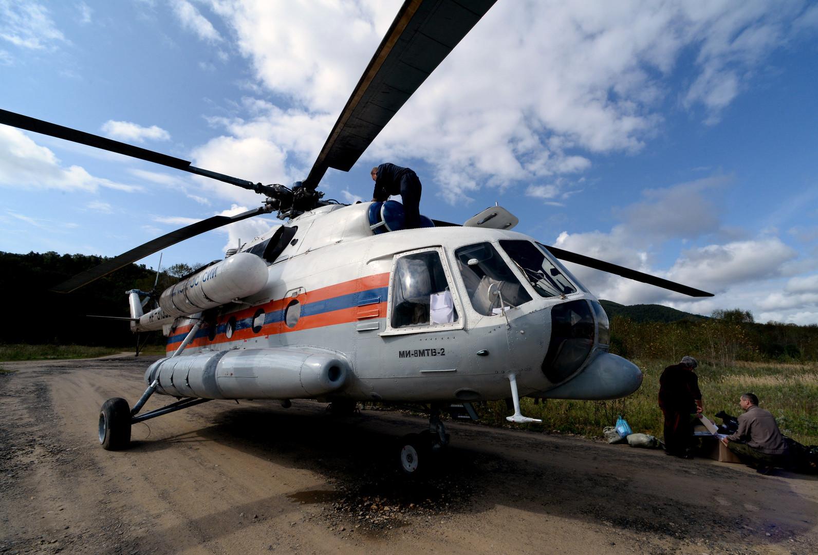 Вертолёт Ми-8 МЧС России разбился в Московской области