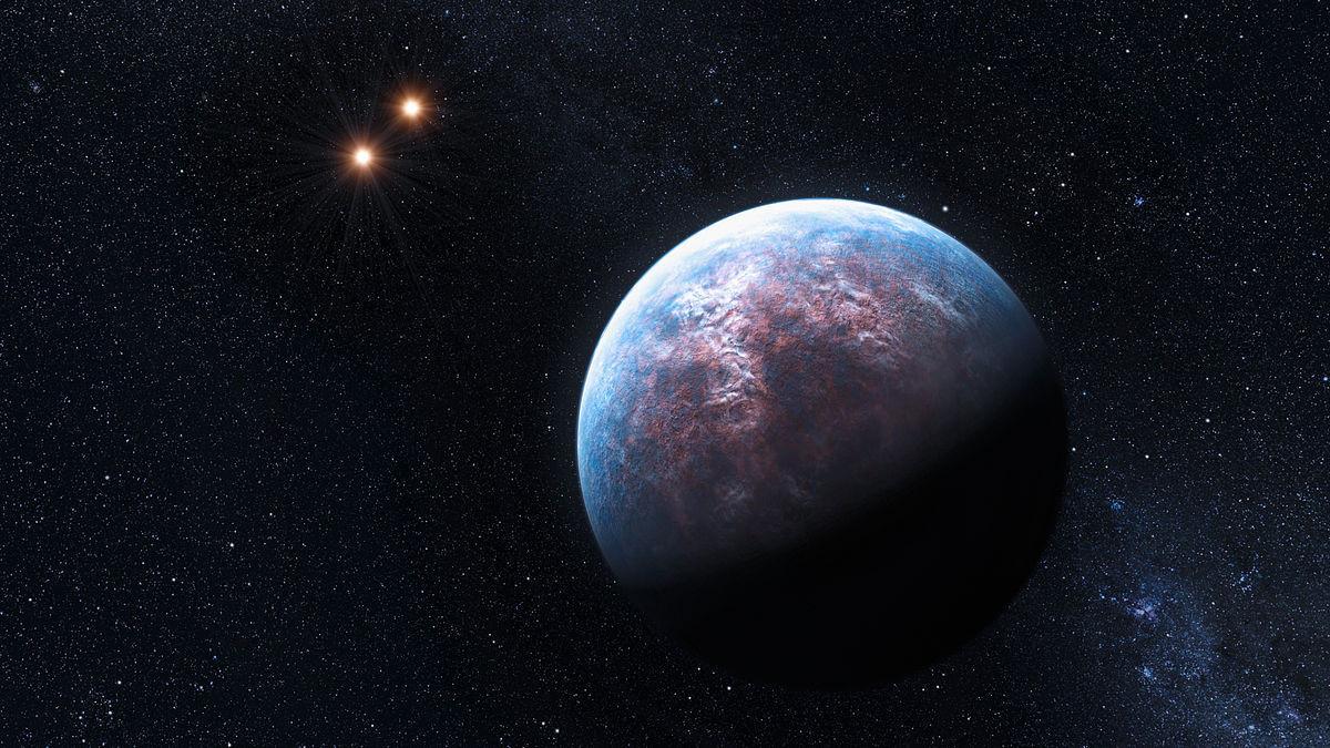 Экзопланета Глизе 832 c, созвездие Журавля.