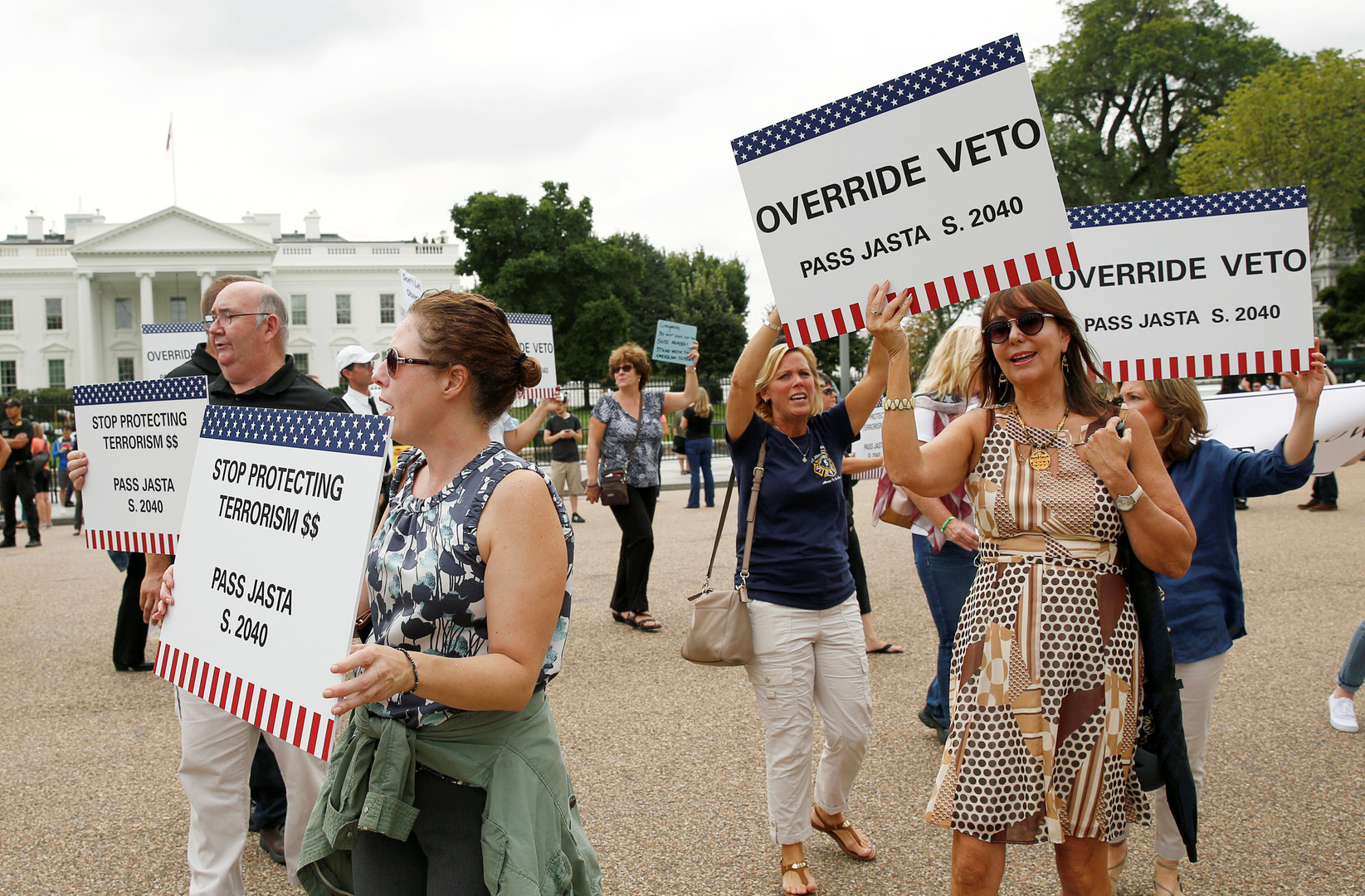 Дружба дороже: Обама наложил вето на закон об исках к Эр-Рияду в связи с терактами 9/11