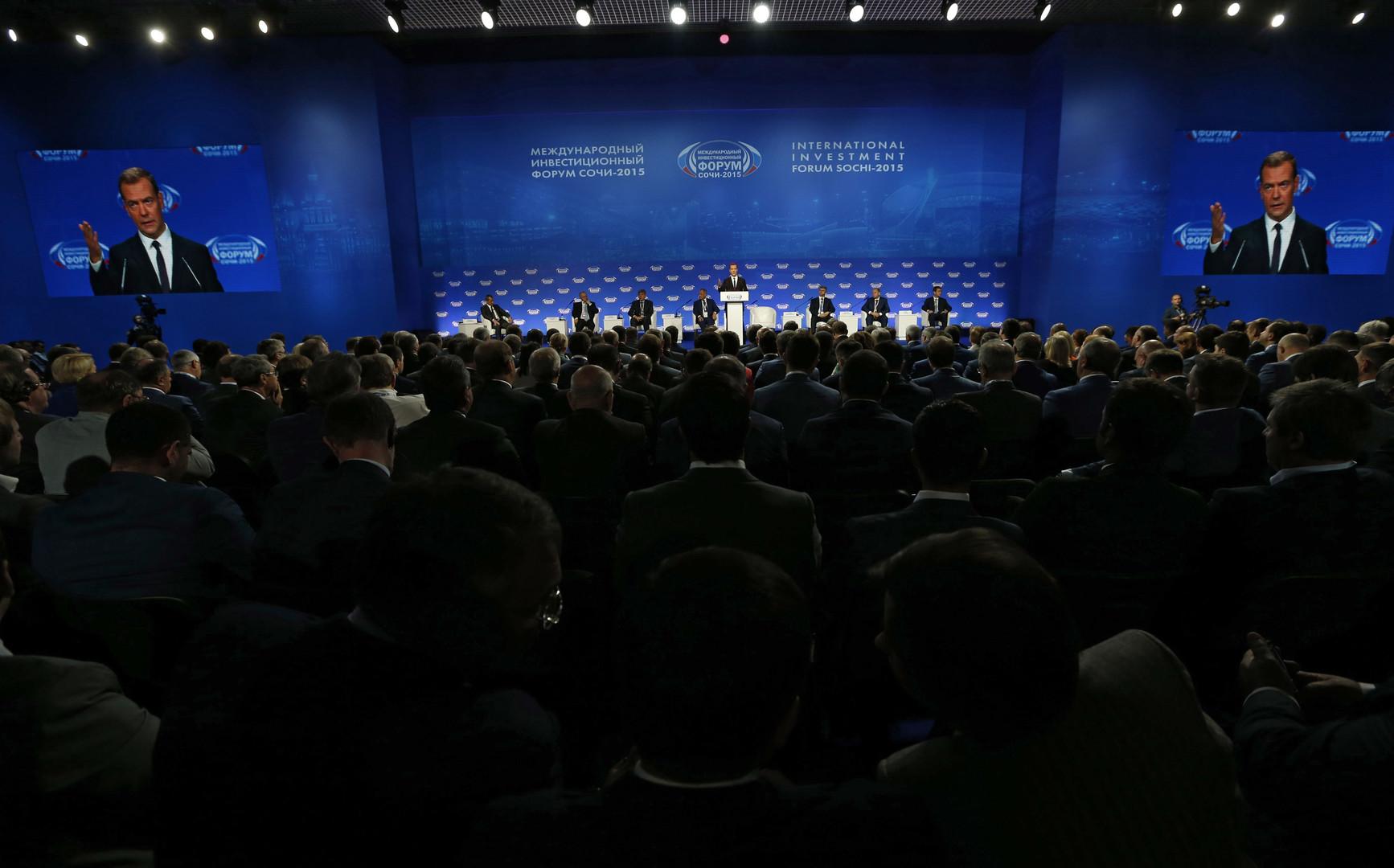 Инвестфорум «Сочи-2016»: как бизнес и власть будут стимулировать экспорт