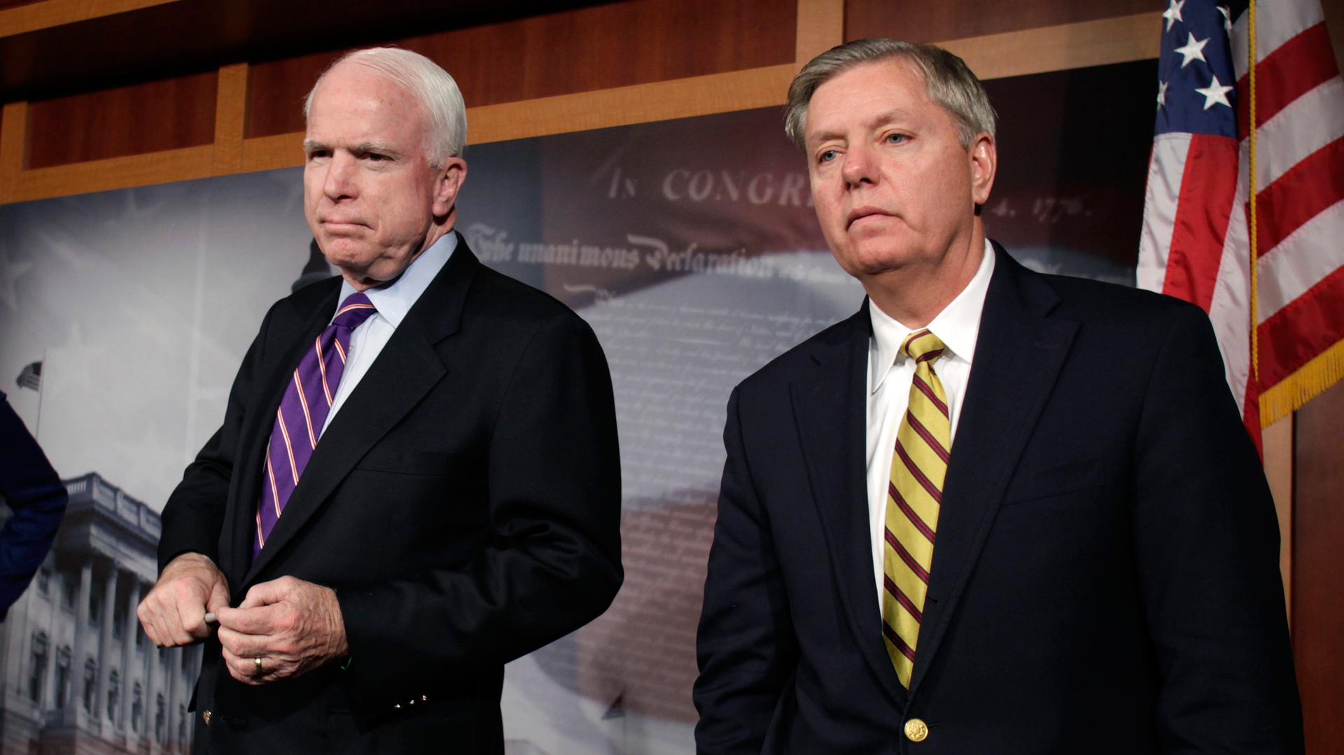 Сенаторы Маккейн и Грэм высмеяли «мощный ход американской дипломатии» Керри