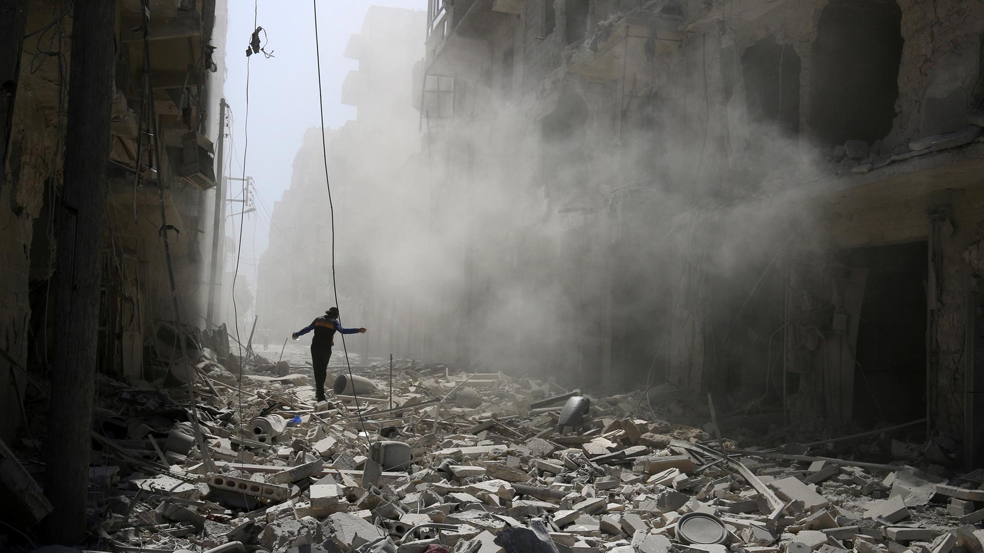 Сирийцы — RT: мы боялись за своих детей, а теперь у нас есть надежда