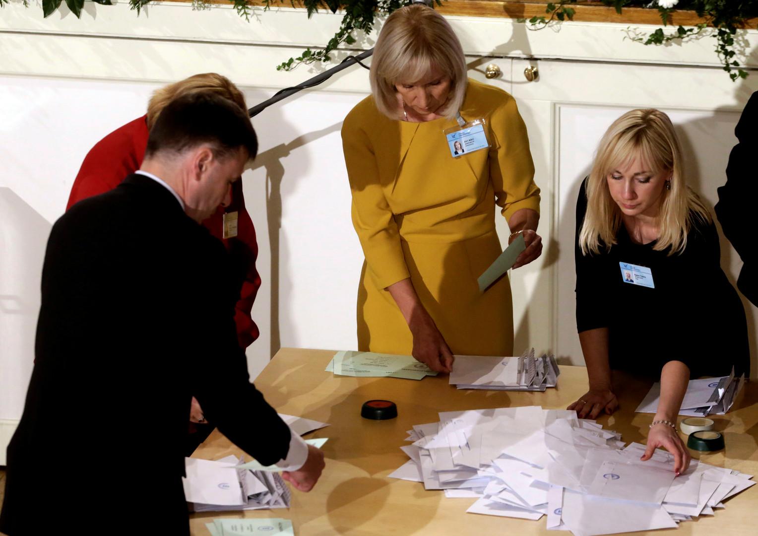 Кампания без компании: на президентское кресло в Эстонии претендует один человек
