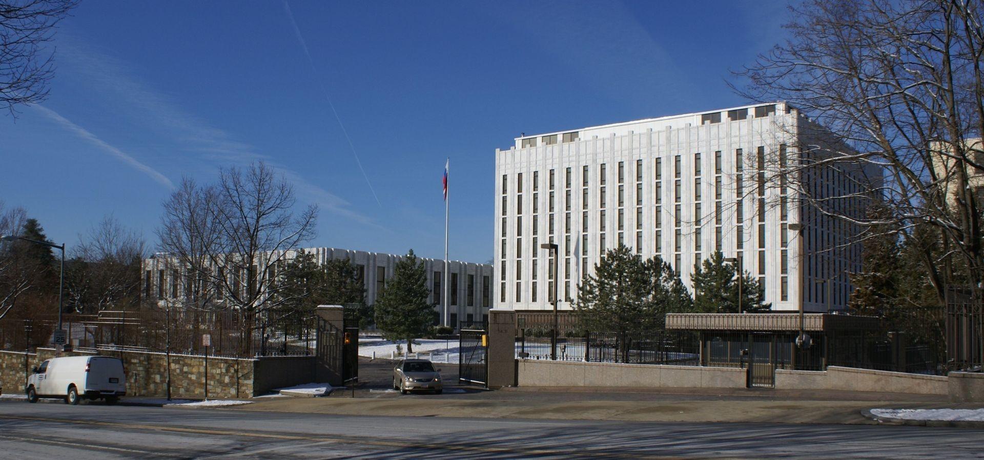 Посольство России в США усилило меры безопасности из-за угроз экстремистов