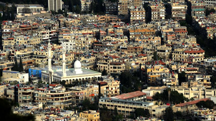 Посольство России в Сирии обстреляли из миномётов