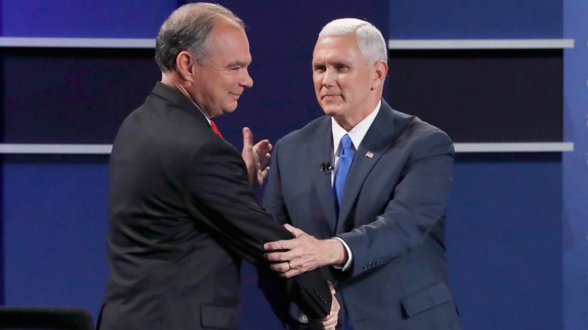 «Вы, ребята, любите Россию»: в чём обвиняют друг друга кандидаты в вице-президенты США