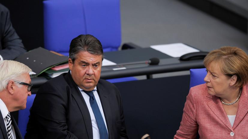WSJ: Германия обсуждает возможность новых санкций против России из-за Сирии
