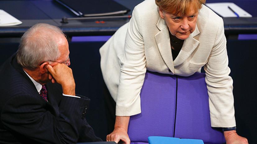 Германия обсуждает возможность новых санкций против России из-за Сирии