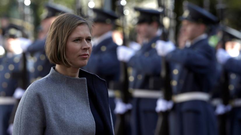 Депутаты парламента Эстонии — RT: обещание президента говорить по-русски ничего не значит