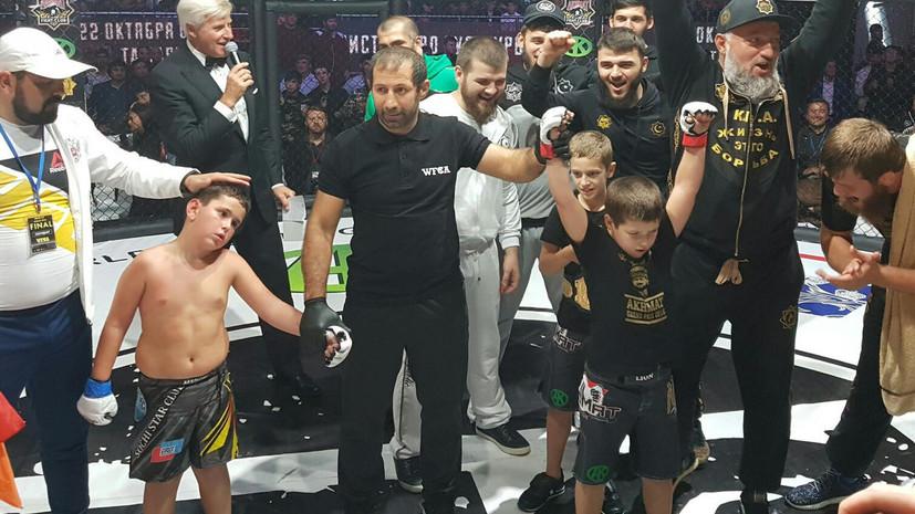 Виновны, но не наказаны: Министерство спорта проверило детские бои в Чечне