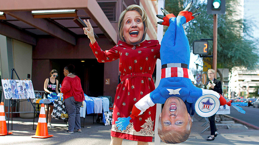 Бизнесмены — за Трампа, карьеристки — за Клинтон: социологи составили портрет избирателя