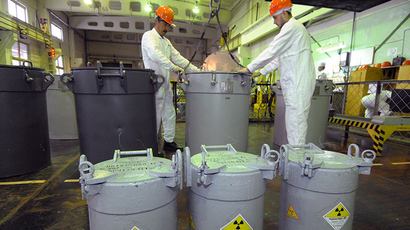 Переработка по-киевски: Украина отказалась платить России за утилизацию ядерного топлива