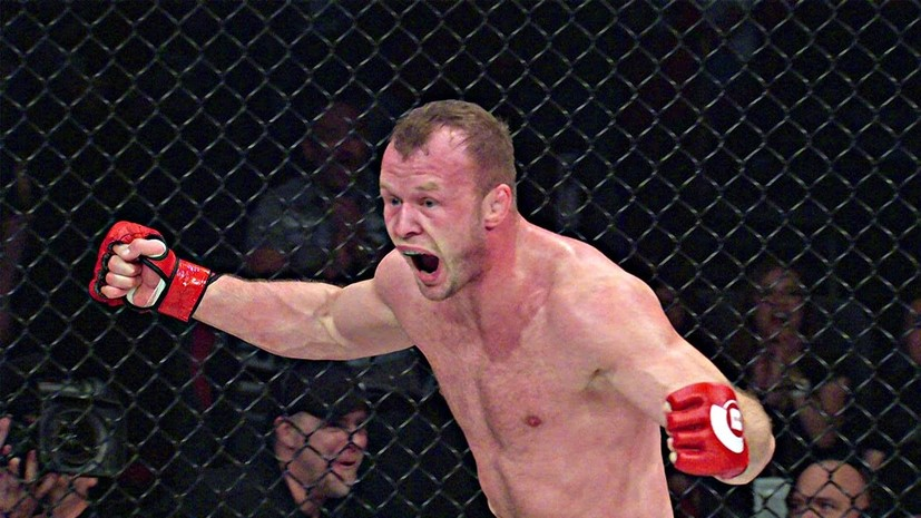 Одной левой: боец ММА Шлеменко выиграл первый бой в США после дисквалификации