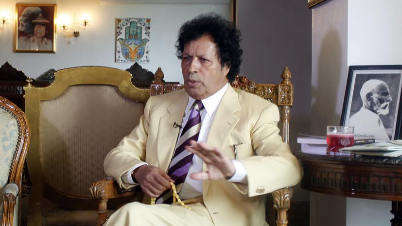 Брат Каддафи — RT:  Запад плетёт заговор против тех, у кого хорошие отношения с Россией