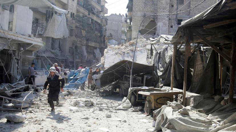 Факты есть — ответа нет: США замалчивают число жертв среди мирных жителей в Сирии