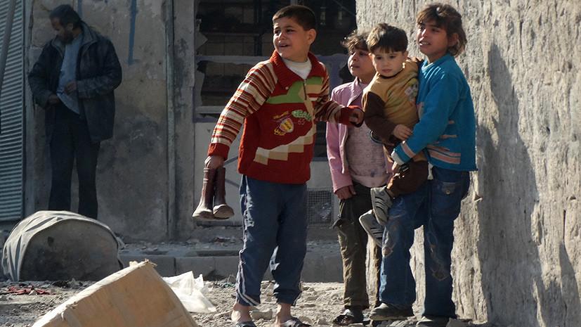 Снайперы с востока: боевики сорвали эвакуацию мирных жителей в Алеппо