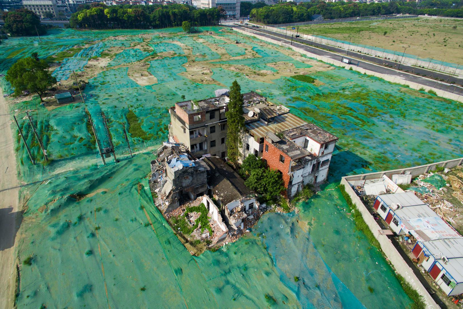 Последствия разрушительного тайфуна «Меги» в провинции Чжэцзян на юго-востоке Китая.