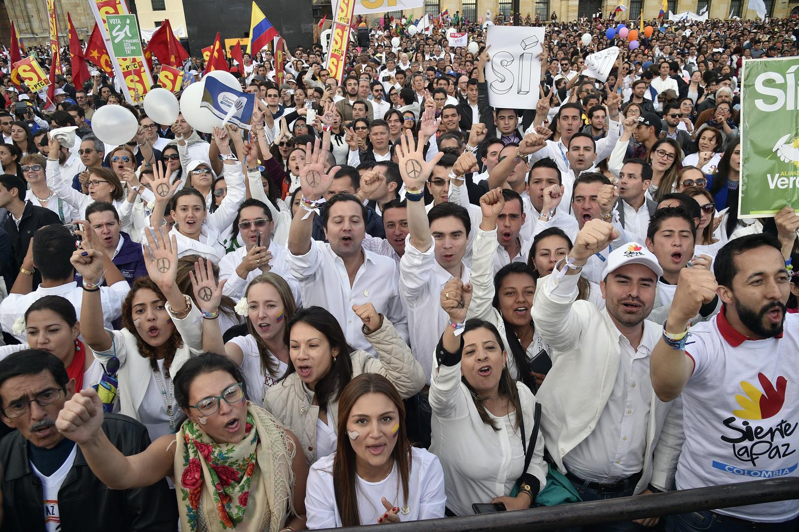 Колумбийцы не поддержали мирное соглашение между правительством и повстанцами