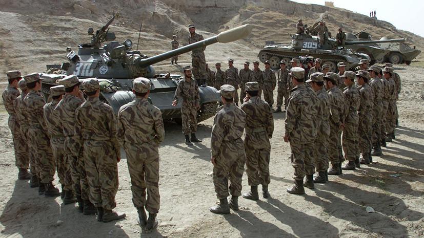 Солдаты сил «Северного альянса»
