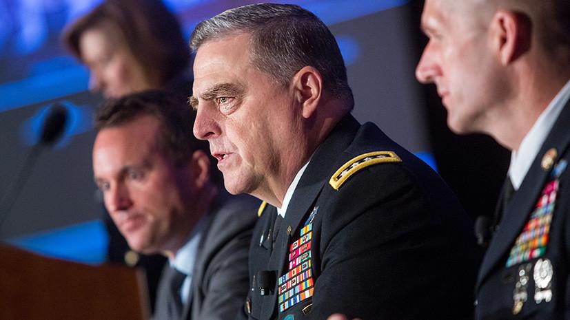 The Sun: американский генерал пригрозил устроить России «серьёзную взбучку»