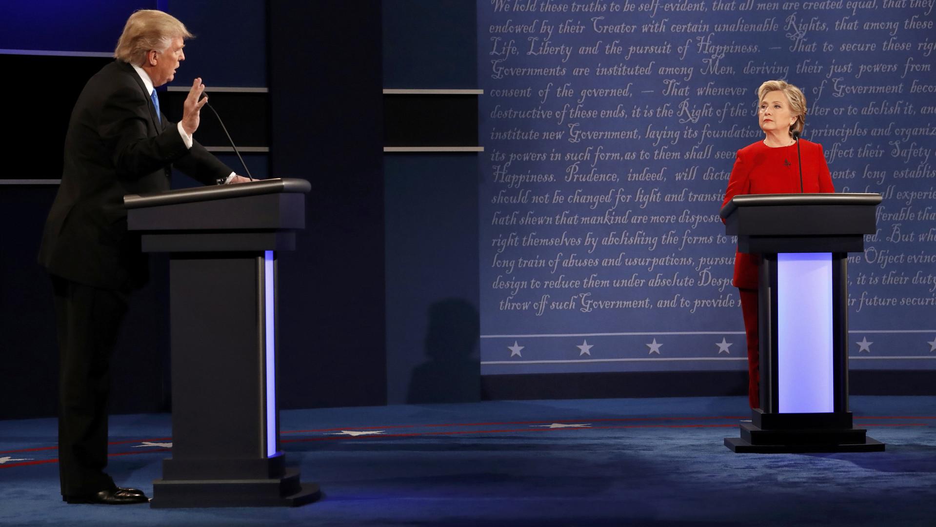 Дуэль на компромате: какие козыри выложат Клинтон и Трамп в новом раунде дебатов