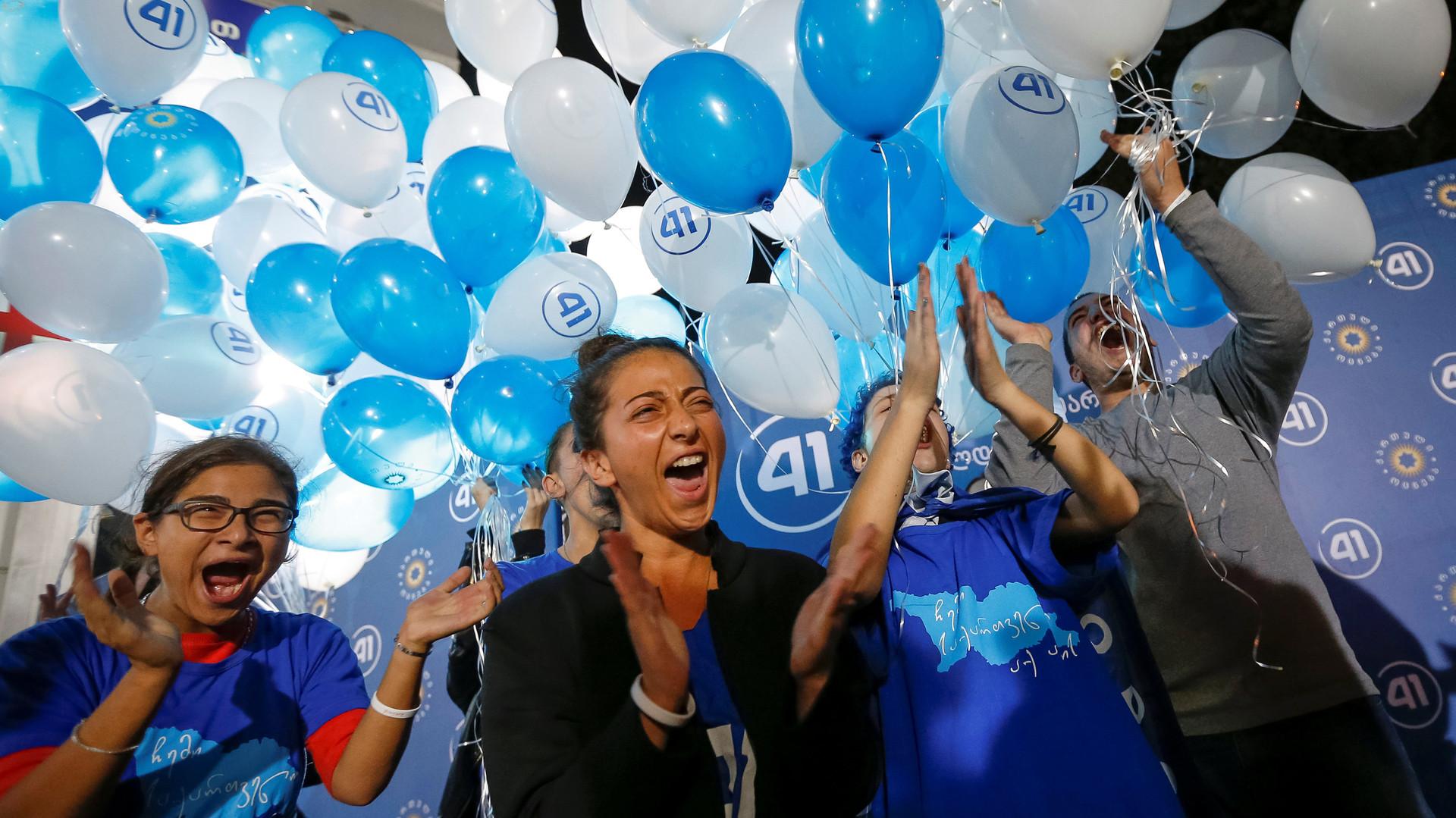 Правящая партия «Грузинская мечта» побеждает на парламентских выборах