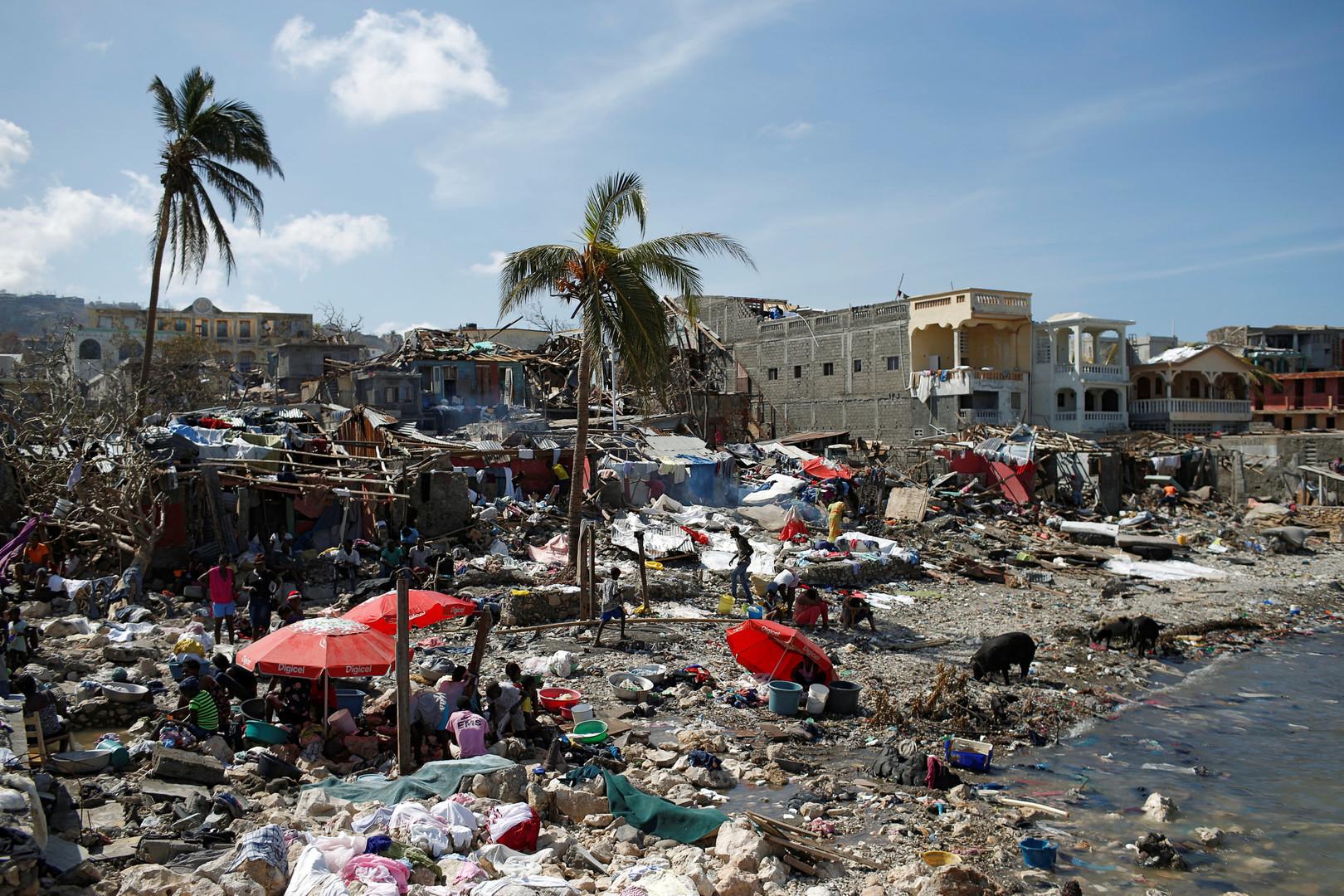 "Последствия урагана ""Мэтью"" на Гаити."