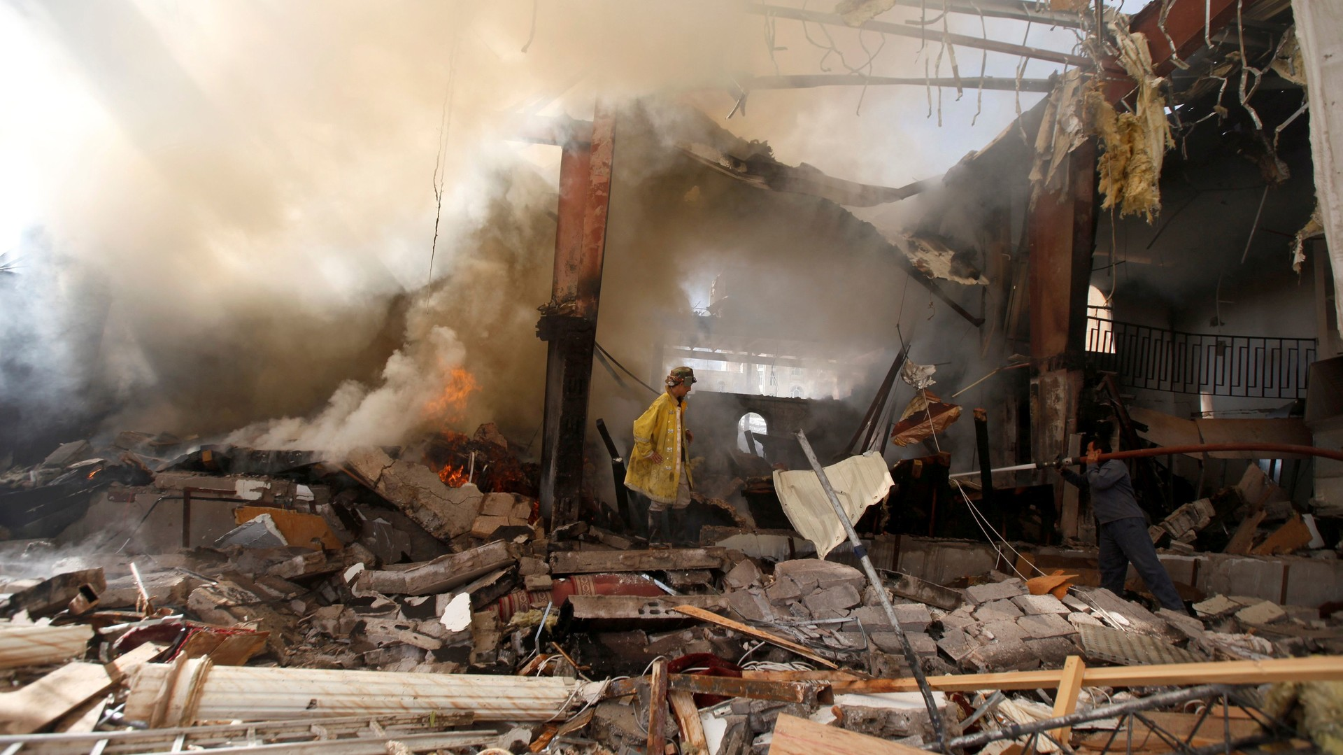 Эр-Рияд разберётся: в Йемене не верят в объективное расследование обстоятельств авианалёта
