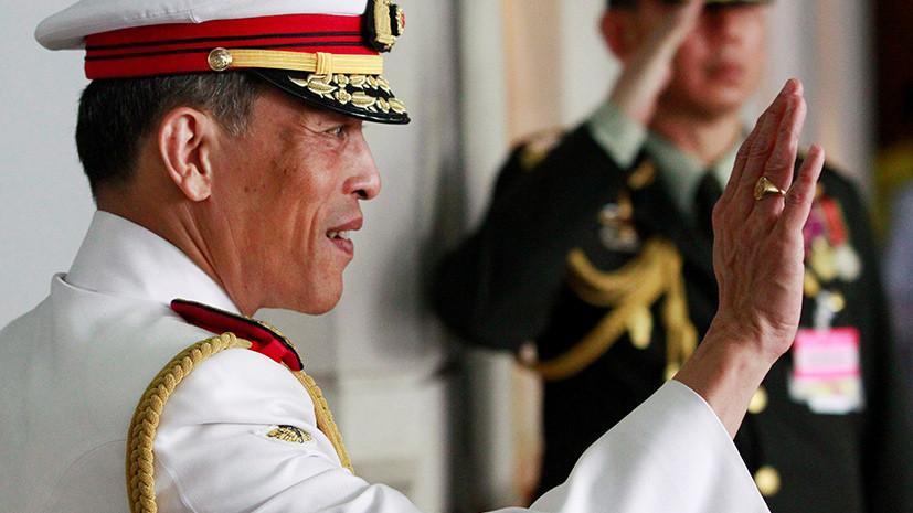 Всё могут короли: чем уже успел запомниться будущий тайский монарх