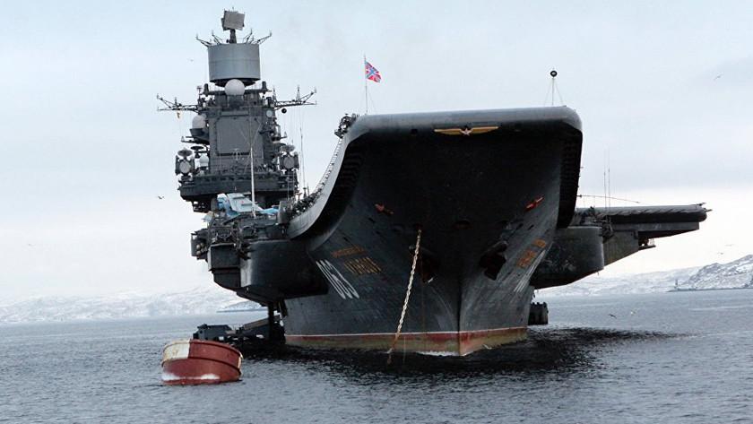 В море волнуются: НАТО готовится сопровождать дальний поход «Адмирала Кузнецова»