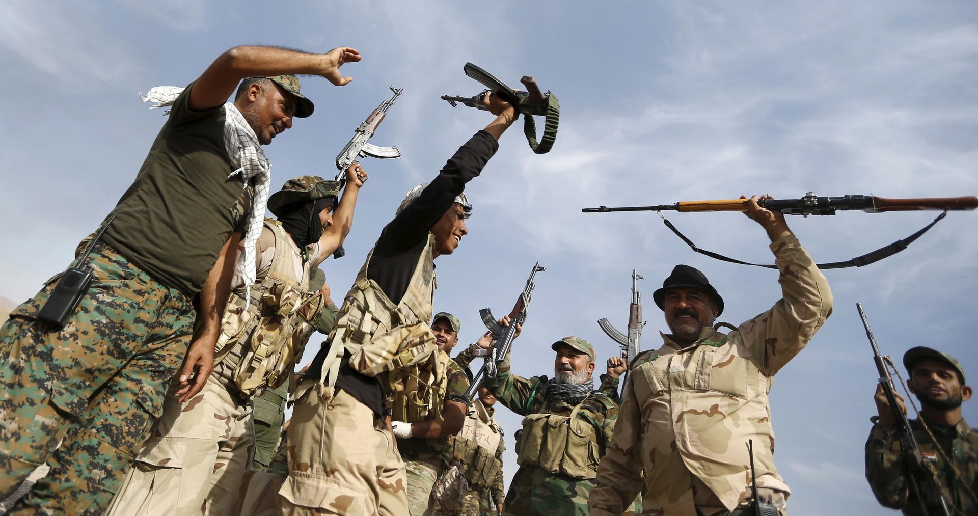 Иракские ополченцы спешат на помощь Дамаску