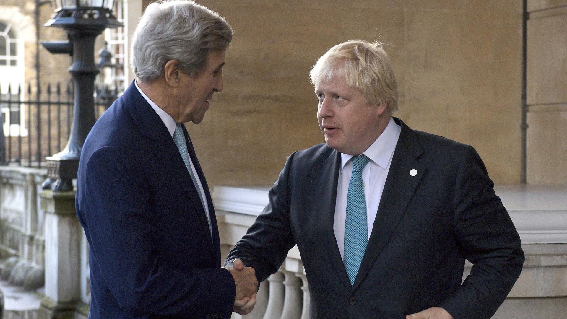 Вашингтон и Лондон грозят России новыми санкциями из-за Сирии