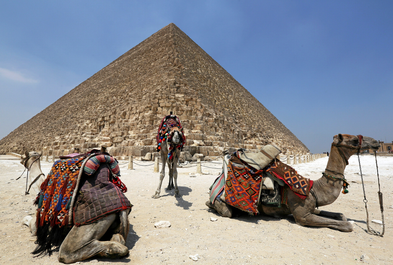 Фараон Хеопс и тайные комнаты: археологи нашли в знаменитой пирамиде новые помещения