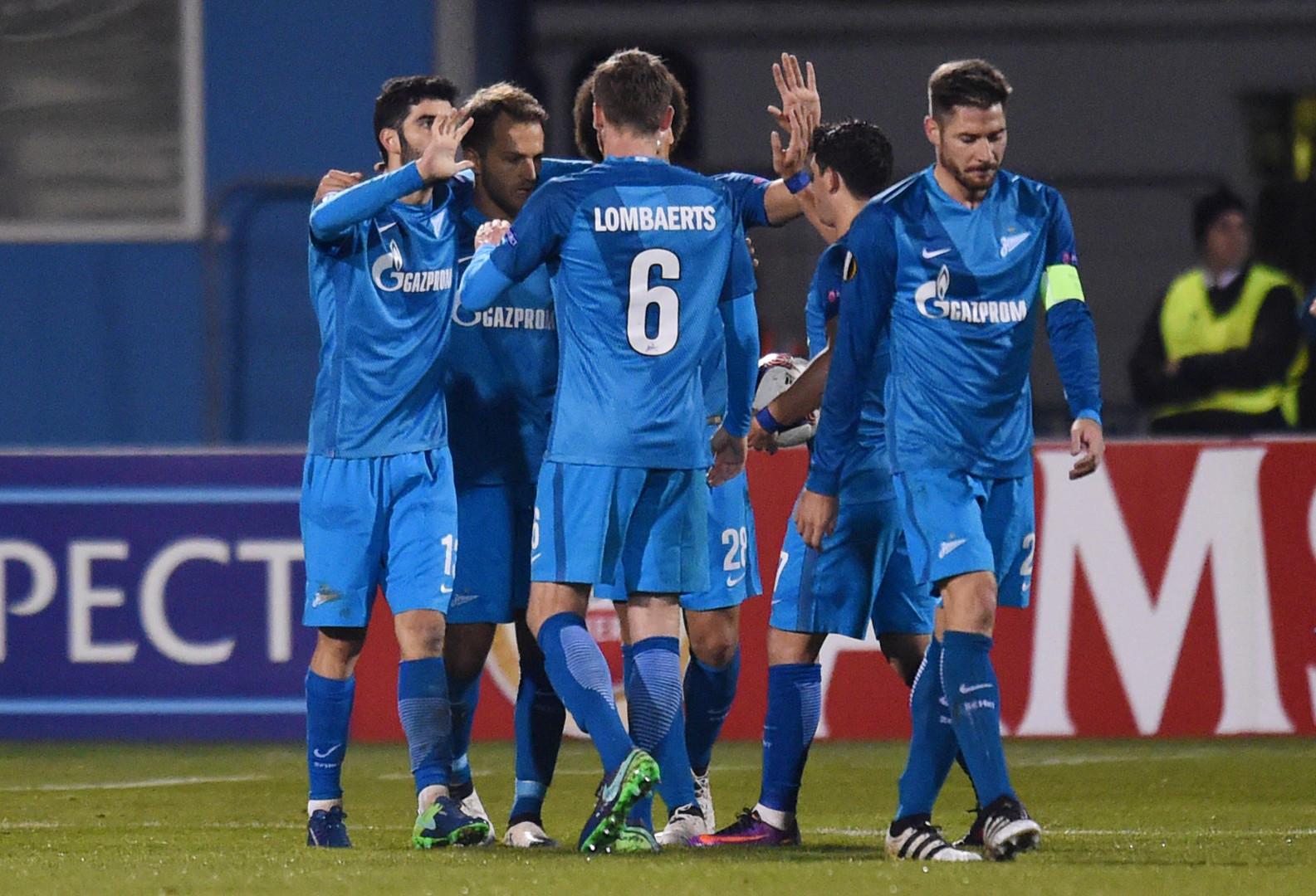 Один за всех: «Зенит» добился третьей победы в Лиге Европы