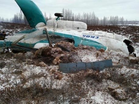 На Ямале разбился вертолёт с нефтяниками, 19 человек погибли