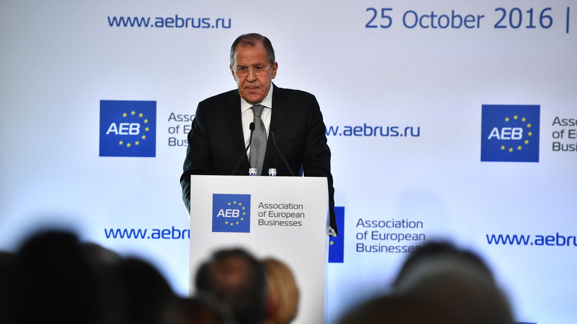 Украина и Сирия, санкции и Запад: Лавров ответил на вопросы европейских бизнесменов
