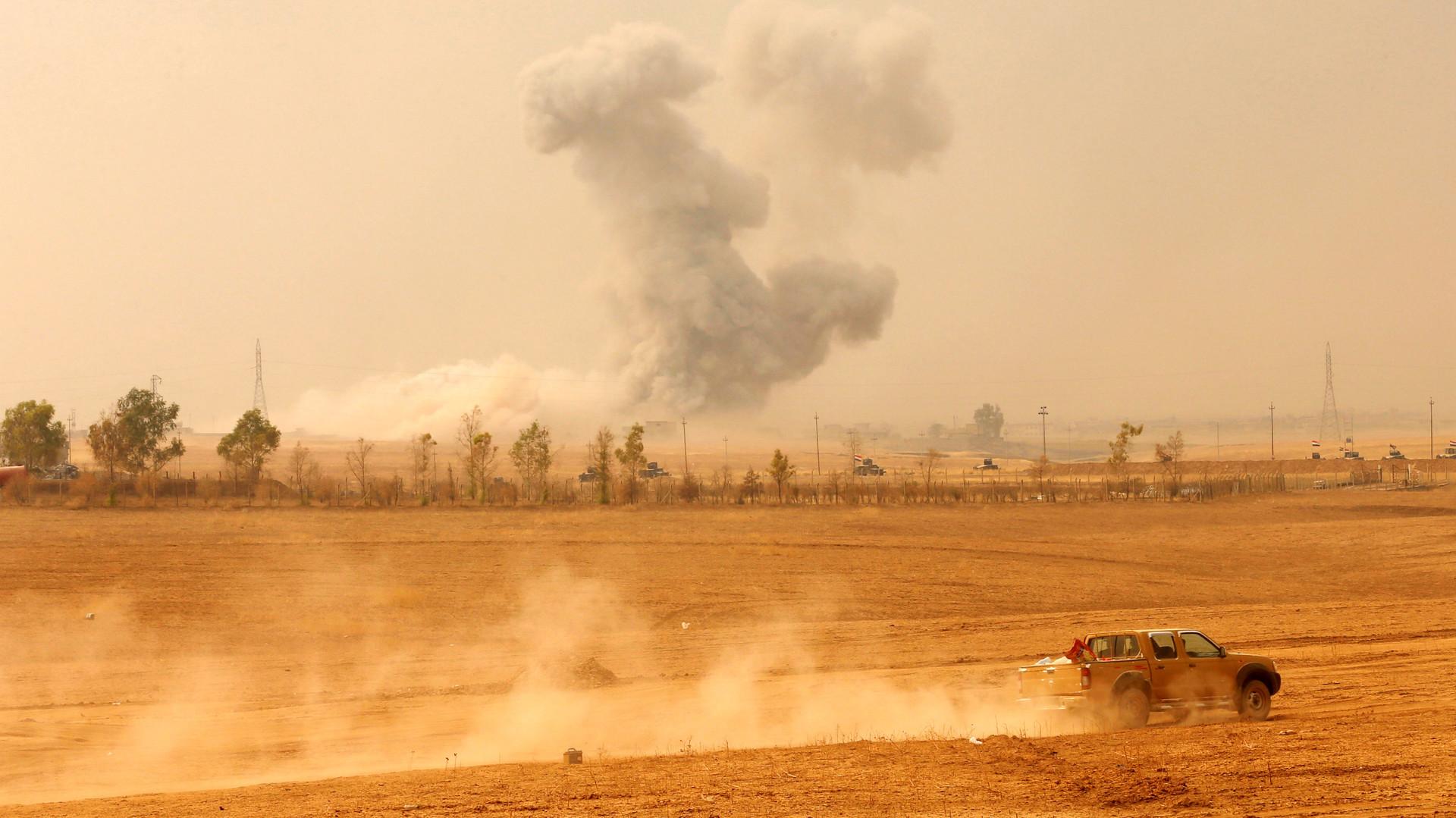 «Успехов не наблюдается»: Генштаб об операции по освобождению Мосула