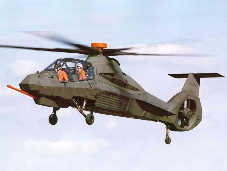 Вертолёт Boeing-Sikorksy RAH66 Comanche
