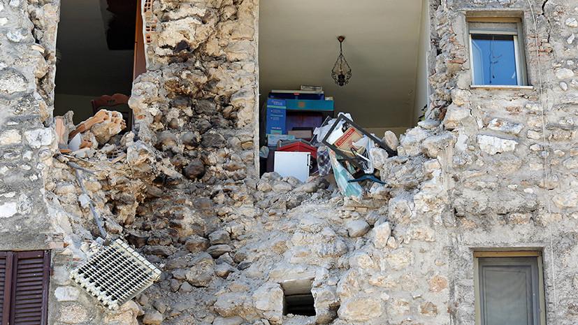 «Это кошмар»: в Италии третье мощное землетрясение за три месяца