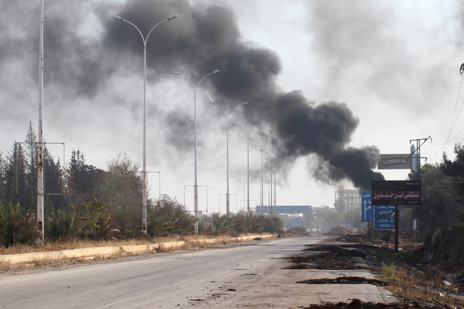 В ответ на перемирие: за три дня в Алеппо в результате атак боевиков погибли 84 человека