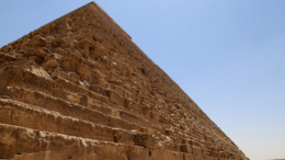 Пирамида Хафра - одна из трёх великих пирамид в Гизе