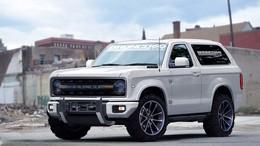 Концепт внедорожника Ford Bronco шестого поколения.