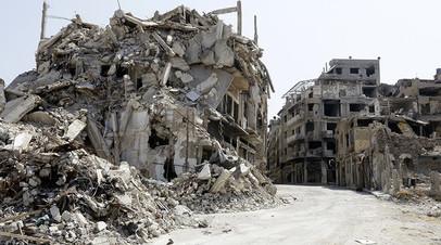 Хомс 360: панорамное видео RT из разрушенного войной сирийского города